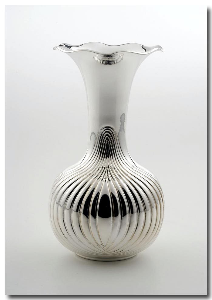 Sterling Silver Vases Vase And Cellar Image Avorcor